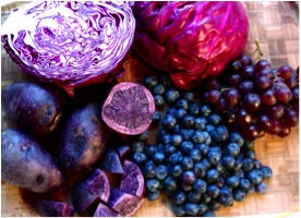 Blue-purple-food