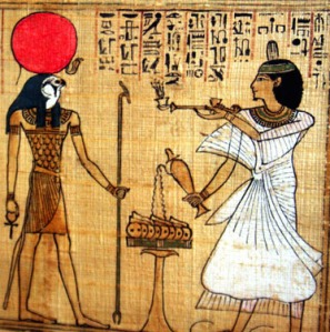 Eygptian-God-Ra-Worship