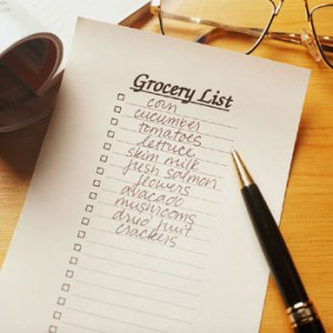 handwritten-grocery-list